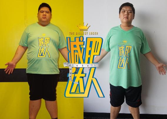 陈为凯   减重72斤